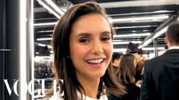 Nina-Dobrev-Gets-Ready-for-the-Louis-Vuitton-Fashion-Show-Vogue